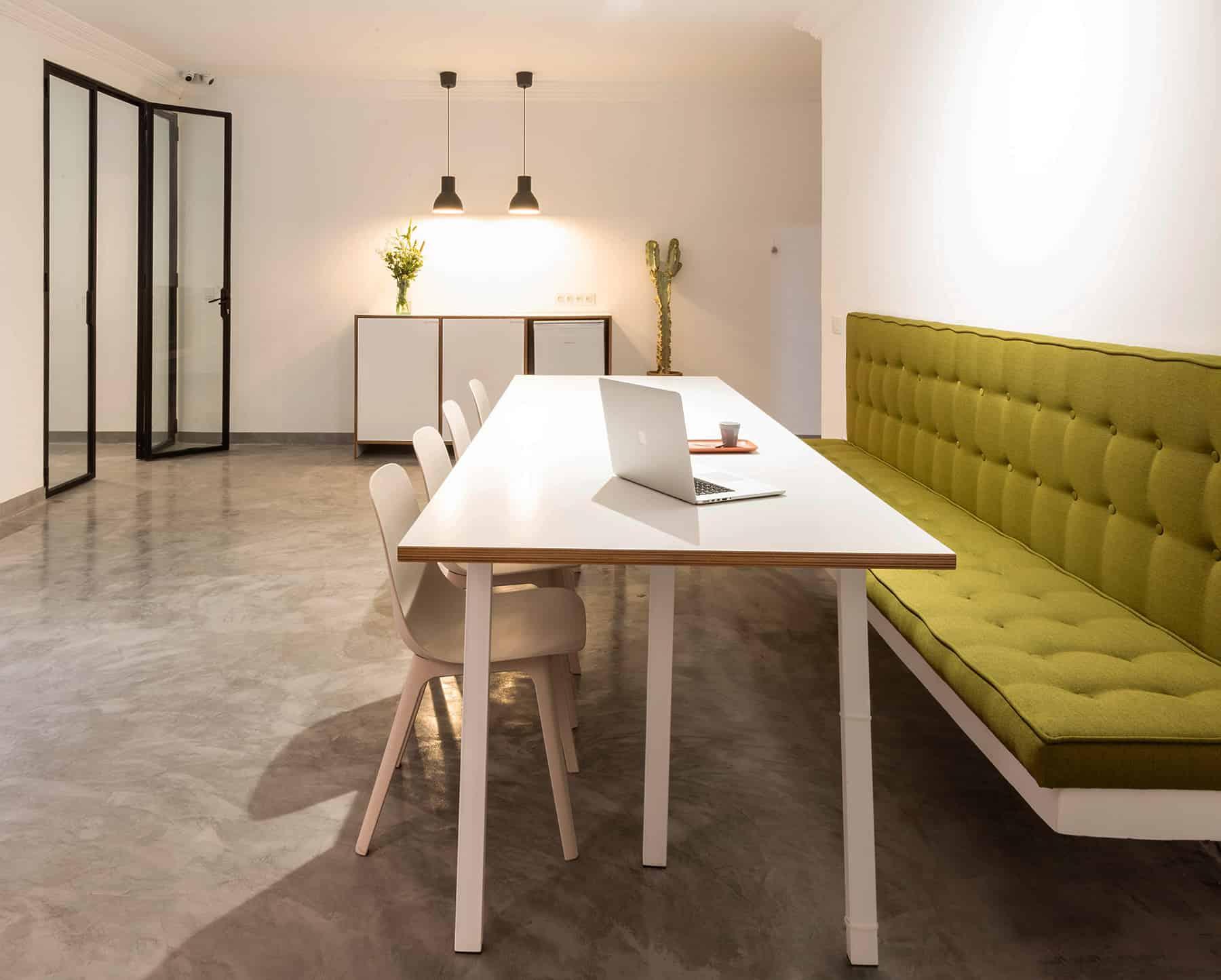 Agence de communication & web: architecture d'intérieur
